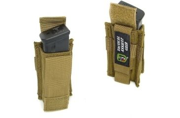 TAG MOLLE Enhanced Double Stacked 45 Pistol Mag (1) Pouch
