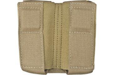 Tactical Assault Gear MOLLE Enhanced Magnet Pistol Double Magazine Pouch - Coyote Tan 956263