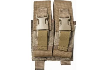 Tactical Assault Gear Molle Flash Bang Grenade 2 Pouch A Tacs 813418 T1 Fg Fdfaac 813418