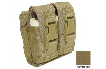 Tactical Assault Gear Molle Coyote Flash-Bang Grenade 2 Pouch MFB2CT