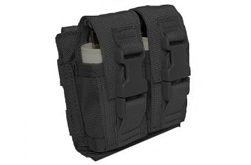 Tactical Assault Gear MOLLE Flash-Bang Grenade 2 Pouch Black 812198