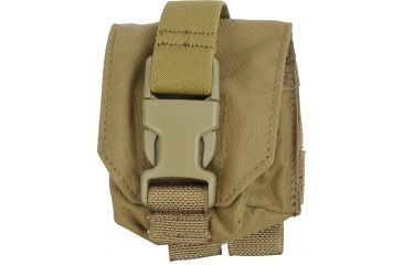 Tactical Assault Gear MOLLE Frag Grenade 1 Pouch, Coyote Tan 812087