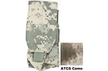 Tactical Assault Gear MOLLE M16 Mag 2 Pouch A-TACS 813404