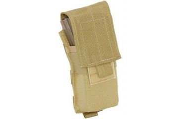 Tactical Assault Gear MOLLE M16 Mag 2 Pouch Coyote Tan 812015
