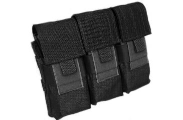 Tactical Assault Gear MOLLE M16 Mag 6 Pouch, Black 812024
