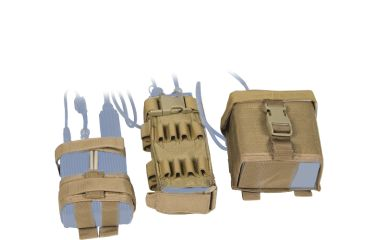 Tactical Assault Gear MOLLE MBITR Amp and Battery Pouch Kit ABU 814983