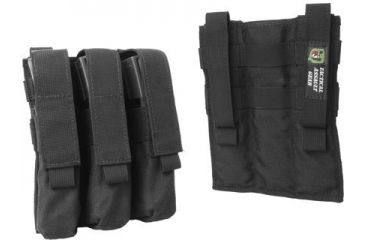 1-TAG MOLLE MP5 Mag 6 Pouch, Ranger Green