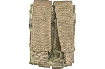 Tactical Assault Gear MOLLE Pistol Mag 2 Pouch, Multicam 812008