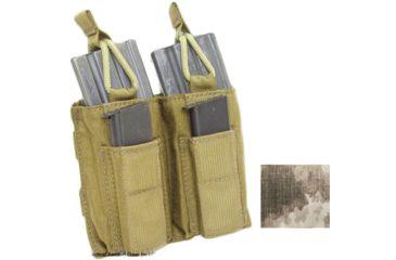 Tactical Assault Gear MOLLE Shingle/Pistol Enhanced 2 Mag Pouch A-TACS 813420