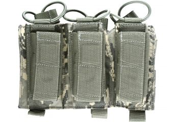 Tactical Assault Gear MOLLE Shingle Pistol Enhanced 3 Magazine Pouch, ABU 814957