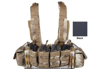 Tactical Assault Gear Phalanx Type 2 MOLLE Chest Rig, Black 816310