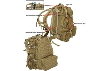 5-TAG Sentinel Pack - Tactical Assault Gear Carrying Bags