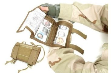 Tactical Assault Gear Tactical Arm Band w/Zippered Compartment - Coyote Tan 811812