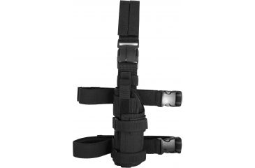 Tactical Assault Gear Universal Drop Leg Holster, Left, Black 812735