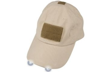 Tactical Assault Gear Warrior Hat with LED Tan WH3GY 811740