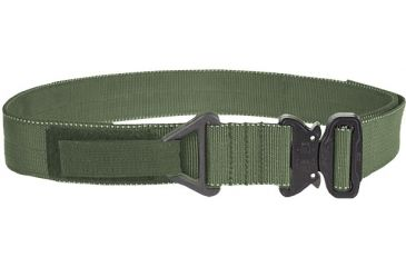 TAG Cobra Buckle Riggers Belt - Sm (30-32), Ranger Green