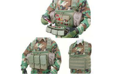 Tactical Assault Gear EOD Chest Rig Pouch
