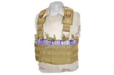 Tactical Assault Gear Gladiator Chest Rig Coyote Tan GCR1CT