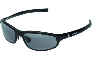 Tag Heuer 27 Optic Sunglasses, Black Frame/Black Temples, Grey Outdoor Lens 6002-101