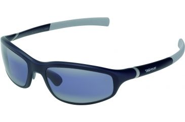 Tag Heuer 27 Optic Sunglasses, Dark Blue Frame/Light Grey Temples, Watersport Lens, Polarized 6002-409