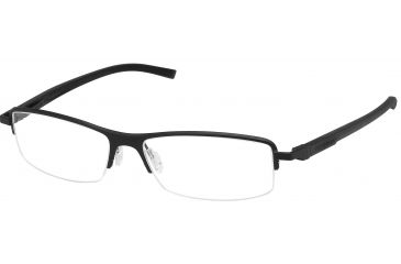 Tag Heuer Automatic Eyeglasses, Black Frame/Black Black Temples, Clear Lens 0825-001