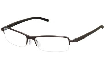 Tag Heuer Automatic Eyeglasses, Chocolate Frame/Dark Brown Black Temples, Clear Lens 0824-003