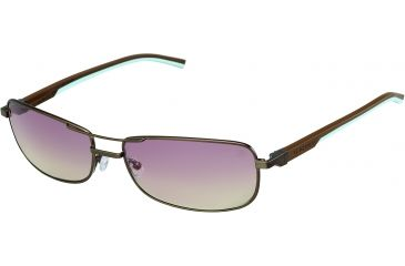 Tag Heuer Automatic Sunglasses, Dark Brown Frame/Dark Brown Blue Sky Temples, Gradient Brown Photochromic Lens 0885-115