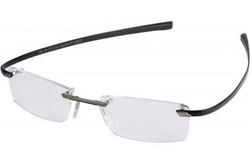 Tag Heuer C-Flex Eyeglasses, Titane Ceramic Frame/Carbon Temples, Clear Lens 0711-001