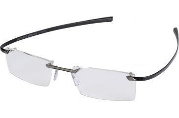 Tag Heuer C-Flex Eyeglasses, Titane Ceramic Frame/Carbon Temples, Clear Lens 0712-001