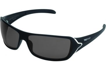 Tag Heuer Racer Sunglasses, Sand Polished Frame/Black Temples, Grey Outdoor Lens 9202-101