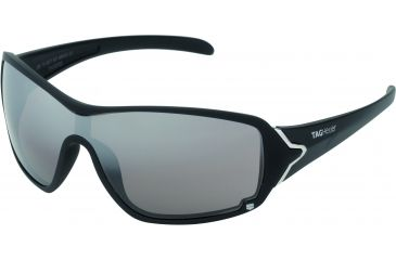 Tag Heuer Racer Sunglasses, Sand Polished Frame/Black Temples, Plum Prime Lens 9201-601