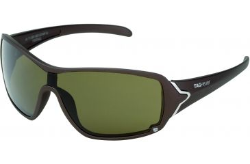 Tag Heuer Racer Sunglasses, Sand Polished Frame/Brown Temples, Brown Precision Lens, Polarized 9201-202