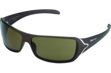 Tag Heuer Racer Sunglasses, Sand Polished Frame/Brown Temples, Brown Precision Lens, Polarized 9202-202