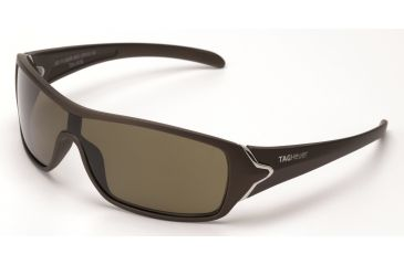 Tag Heuer Racer Sunglasses, Sand Polished Frame/Brown Temples, Brown Precision Lens, Polarized 9206-202