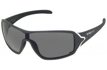 Tag Heuer Racer Sunglasses, White Frame/Soft Grey Temples, Grey Outdoor Lens 9201-113