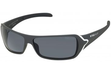 Tag Heuer Racer Sunglasses, White Frame/Soft Grey Temples, Grey Outdoor Lens 9202-113