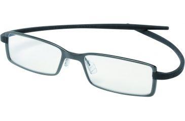 Tag Heuer Reflex 2 Eyeglasses, Black Ceramic Frame/Black Temples, Clear Lens 3703-001