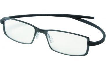 Tag Heuer Reflex 2 Eyeglasses, Black Ceramic Frame/Black Temples, Clear Lens 3704-001