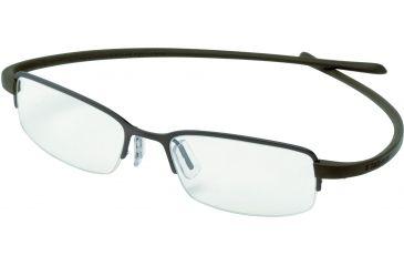 Tag Heuer Reflex Eyeglasses, Brown Frame/Havana Temples, Clear Lens 3201-003