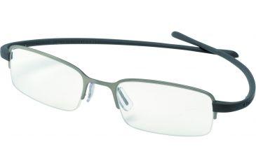 Tag Heuer Reflex Eyeglasses, Titanium Frame/Grey Temples, Clear Lens 3203-002