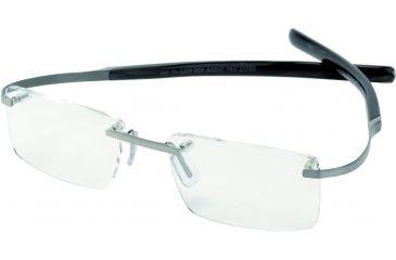 Tag Heuer Spring Eyeglasses, Pure Frame/Black Fiber Temples, Clear Lens 0301-005