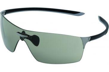 Tag Heuer Squadra Sunglasses, Dark Frame/Black Light Grey Temples, Grey PhotochromicLens,  Photochromic 5501-108