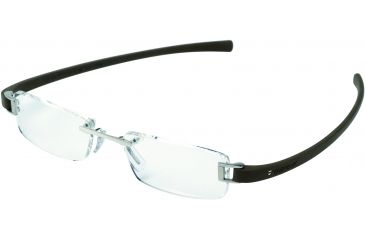 Tag Heuer Track Eyeglasses, Pure Frame/Havana Temples, Clear Lens 7101-004