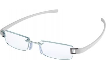 Tag Heuer Track Eyeglasses, Pure Frame/White Temples, Clear Lens 7101-020