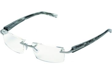 Tag Heuer Trends Eyeglasses, Ruthenium Frame/Squadra Temples, Clear Lens 8102-002