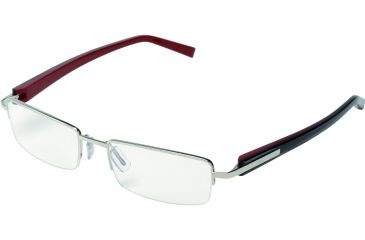 Tag Heuer Trends Sunglasses, Brushed Frame/Squadra Temples, Clear Lens 8203-001