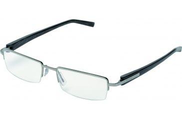 Tag Heuer Trends Sunglasses, Ruthenium Frame/Black Fiber Temples, Clear Lens 8203-004