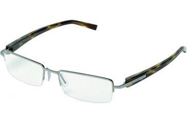 Tag Heuer Trends Sunglasses, Ruthenium Frame/Tortoise Temples, Clear Lens 8203-002