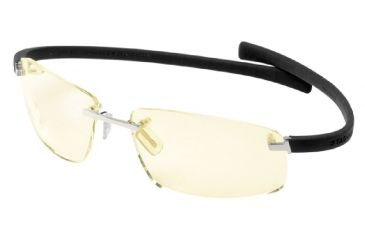 Tag Heuer Wide Eyeglasses, Pure Frame/Black Temples, Night Vision Lens 5202-099
