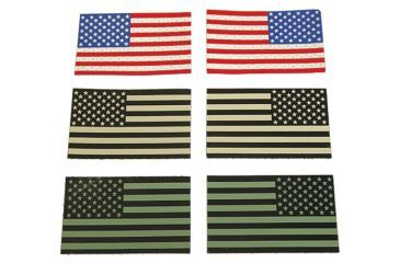 TAG IR American Flag Patch